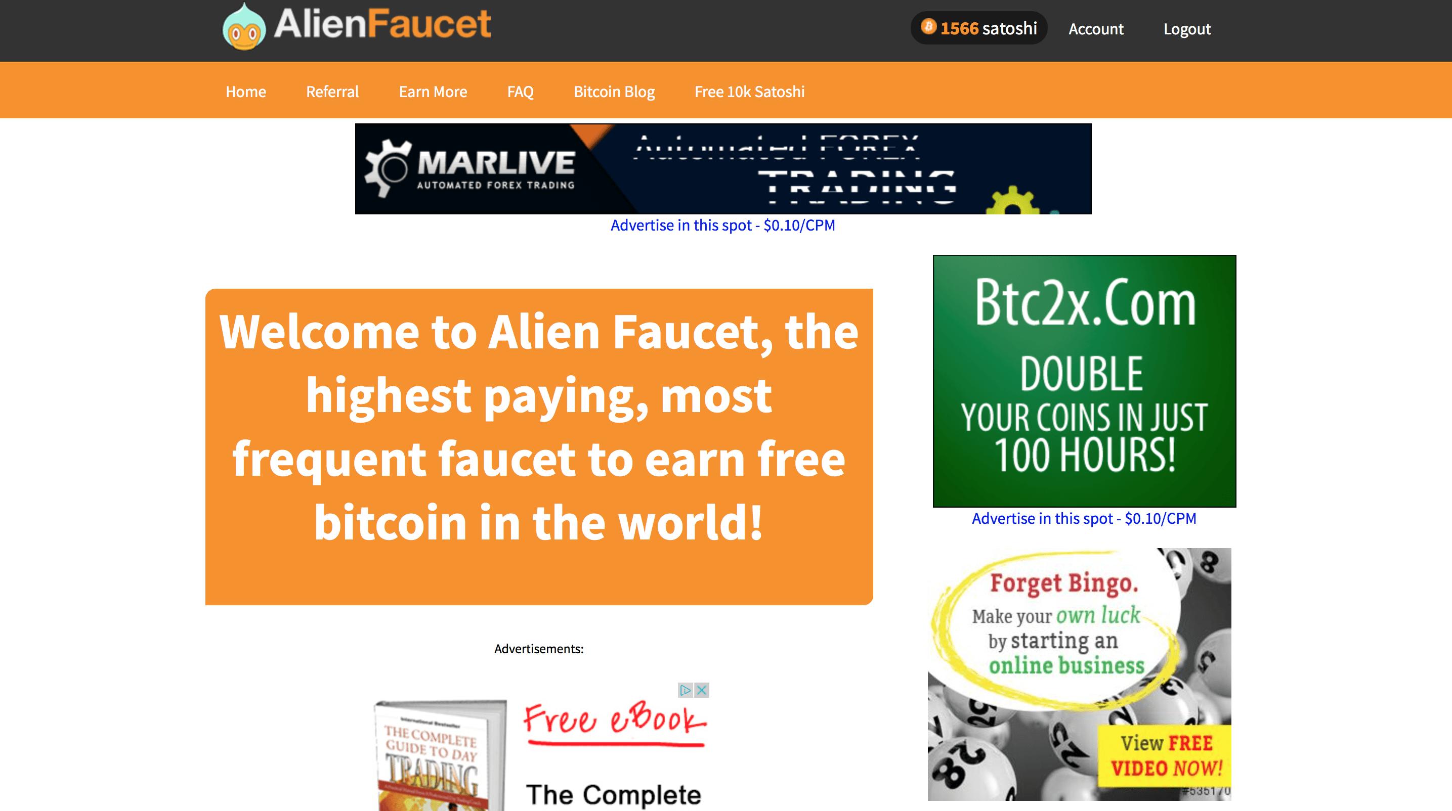 AlienFaucetMain