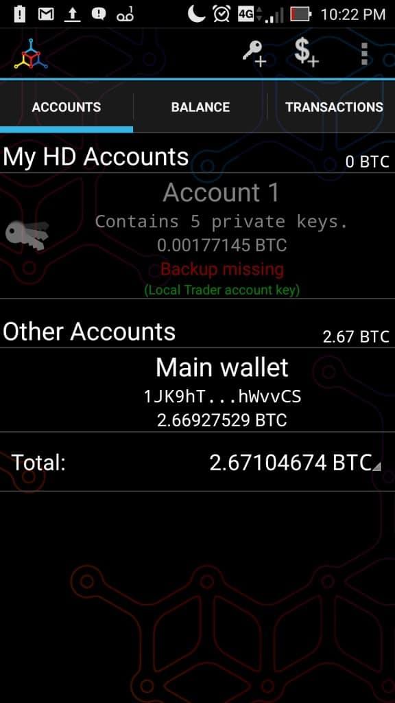 mycelium wallet review