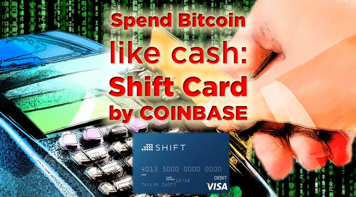 Coinbase shift debit card bitcoin