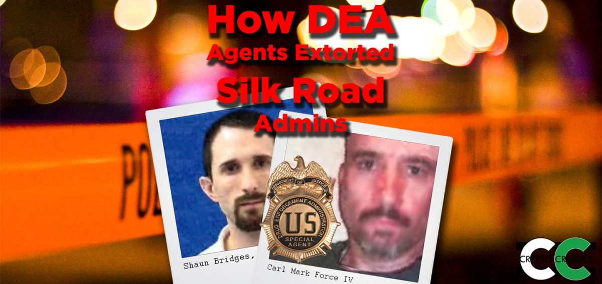 Silk Road extortion Bitcoin Theft DEA