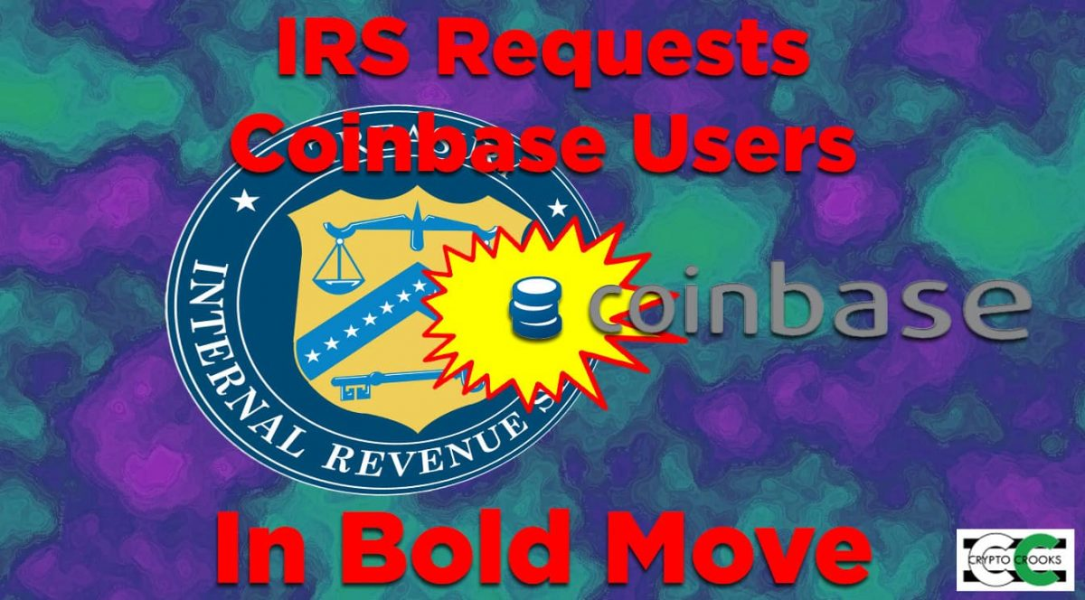 IRS Coinbase Request