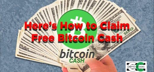 claim free bitcoin cash